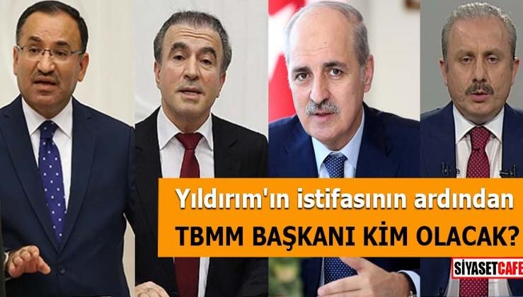 Binali Yıldırım'ın istifasının ardından TBMM başkanı kim olacak?