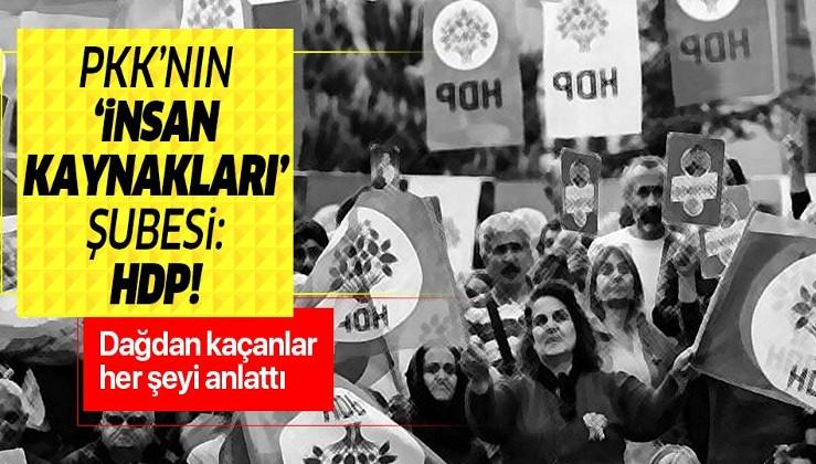 """HDP, PKK'nın """"insan kaynakları"""" şubesi gibi çalışmış."""