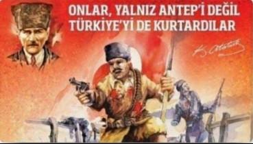 Vurun Antepliler namus günüdür.. Gaziantep'in Kurtuluşu'nun 99. yılı: 'Ölürsem şehit, kalırsam gazi olurum'