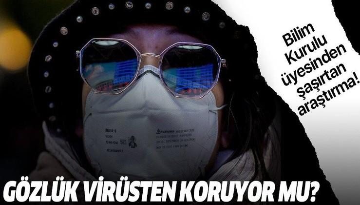 Salgınla igili şaşırtan araştırma! 'Gözlük takanlarda koronavirüs daha az görülüyor'
