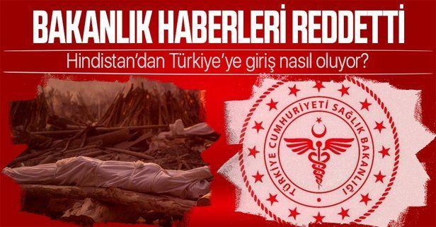 Sağlık Bakanlığı, Hindistan'la ilgili haberleri yalanlandı: Türkiye'ye gelenlere 14 gün zorunlu karantina uygulanıyor