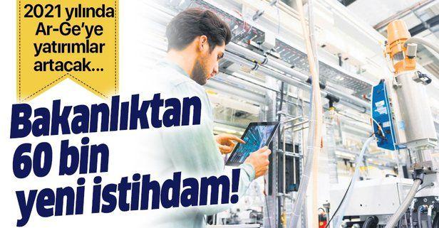 Sanayi ve Teknoloji Bakanlığı'nın destekleri artıyor! 60 bin yeni istihdam