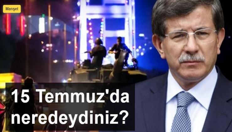 15 Temmuz'da 'Erdoğan direnebilecek mi?' pususuna yatanların sözde darbe karşıtlığı