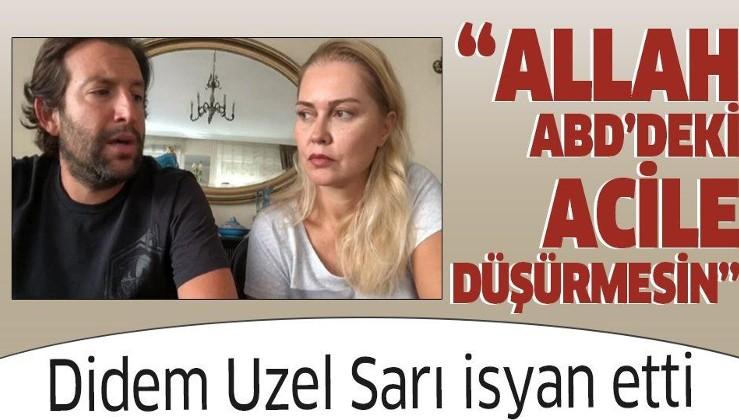 ABD'de yaşayan ünlü oyuncu Didem Uzel'den ülkedeki sağlık sistemine eleştiri: Allah ABD'deki acile düşürmesin!