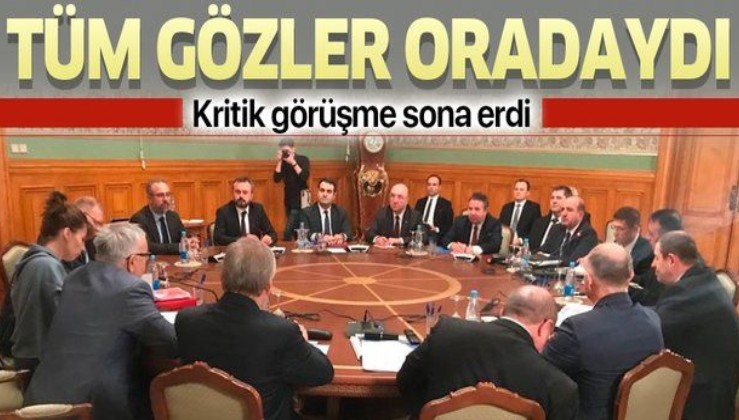Son dakika: Türk ve Rus heyetlerinden Ankara'da kritik 'İdlib' görüşmesi sona erdi.