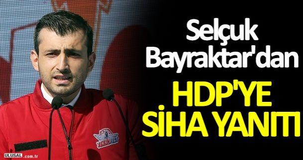 Selçuk Bayraktar'dan HDP'ye silahlı insansız hava aracı SİHA yanıtı