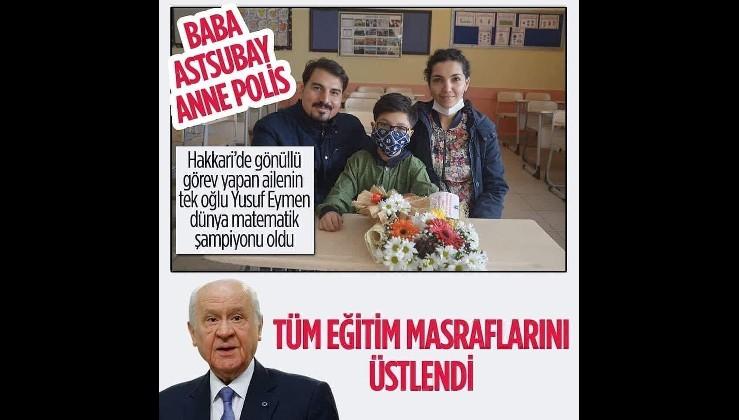 MHP lideri Bahçeli'den anlamlı hareket