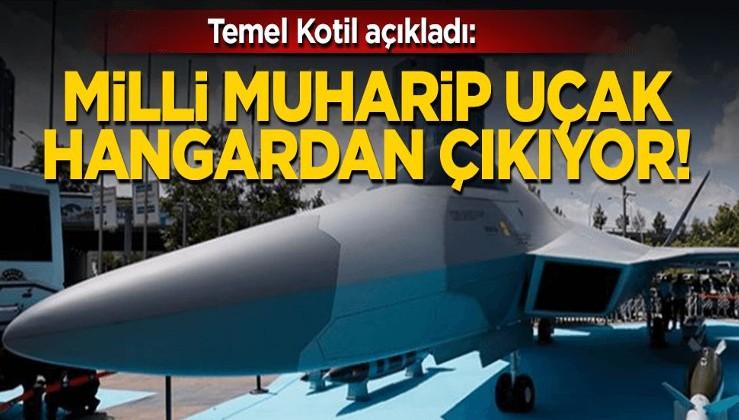 Milli Muharip Uçak 2023'te hangardan çıkıyor