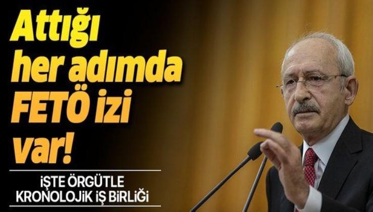 Kemal Kılıçdaroğlu'nun FETÖ ile kronolojik iş birliği.