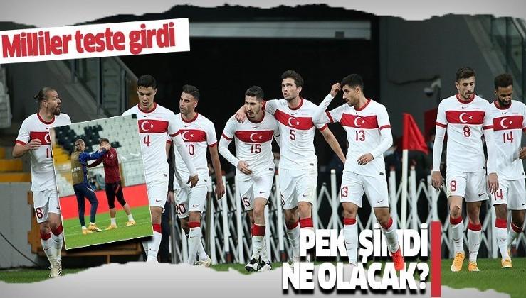 A Milli Futbol Takım'a Hırvatistan maçı sonrası koronavirüs testi yapıldı! Peki şimdi ne olacak?