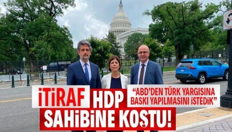 HDP Sözcüsü Hişyar Özsoy ABD Başkanı Biden'dan Türk yargısına baskı yapması için yardım isteyeceklerini itiraf etti!