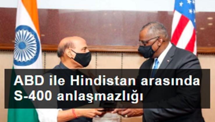 ABD ile Hindistan arasında S-400 anlaşmazlığı
