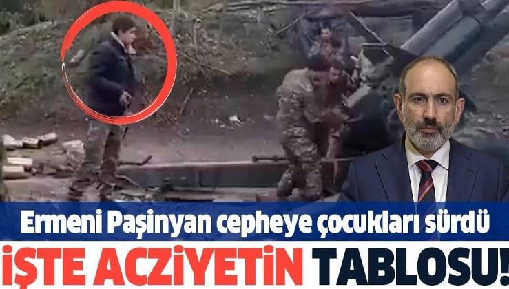 Azerbaycan duyurdu: Ordusu büyük zayiata uğrayan işgalci Ermenistan cepheye çocukları sürdü