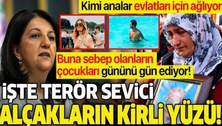 'Diyarbakır Anneleri'nin evlatları için yaptığı eylem devam ederken HDP'li Pervin Buldan'ın çocukları gününü gün ediyor!