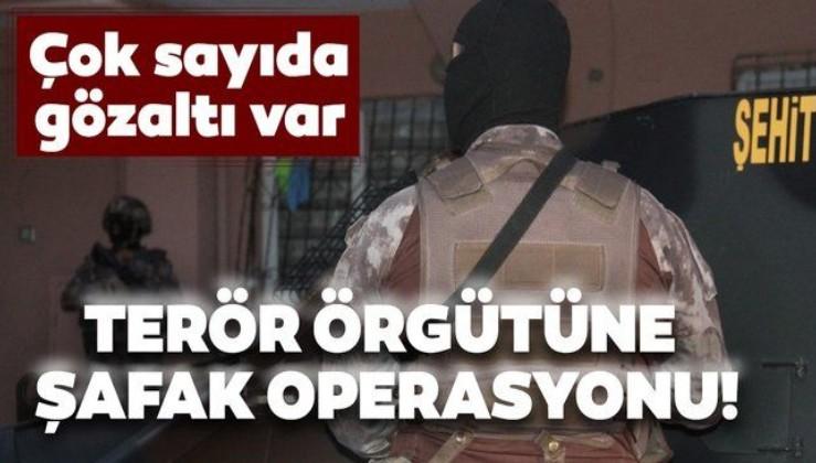 Adana'da PKK/KCK operasyonu! Gözaltılar var