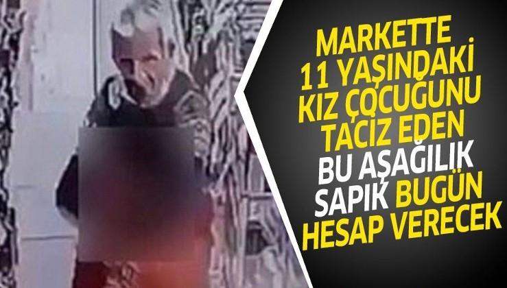 İstanbul Esenler'de markette 11 yaşındaki kız çocuğunu taciz eden sapık yakalandı savcılığa sevk edilecek