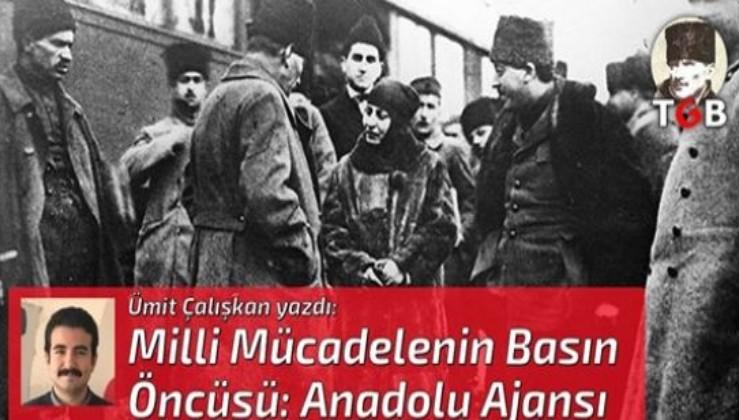 Milli Mücadelenin Basın Öncüsü: Anadolu Ajansı