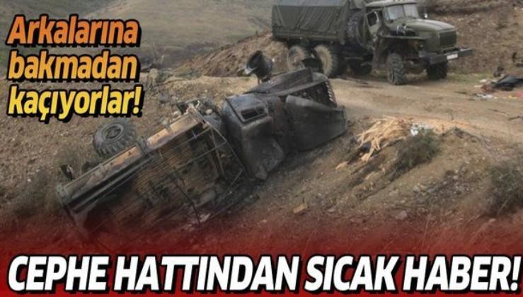 İşgalci Ermenistan ordusu çöküyor: Yiyecek ve cephaneleri bitince cephelerden geri çekildiler
