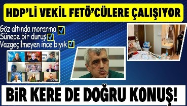 """HDP'li Gergerlioğlu'nun """"loğusa anneyi gözaltına almak istiyorlar"""" dediği FETÖ'cü, taburcu olana kadar gözaltına alınmayacakmış"""