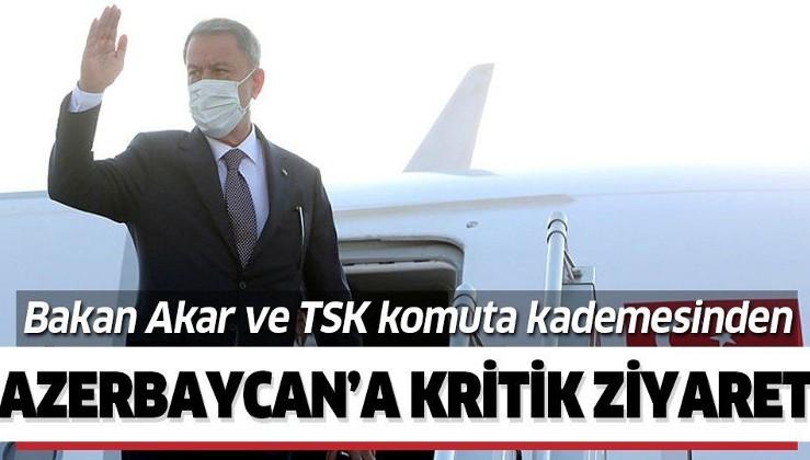 Milli Savunma Bakanı Hulusi Akar ve TSK komuta kademesi Azerbaycan'da