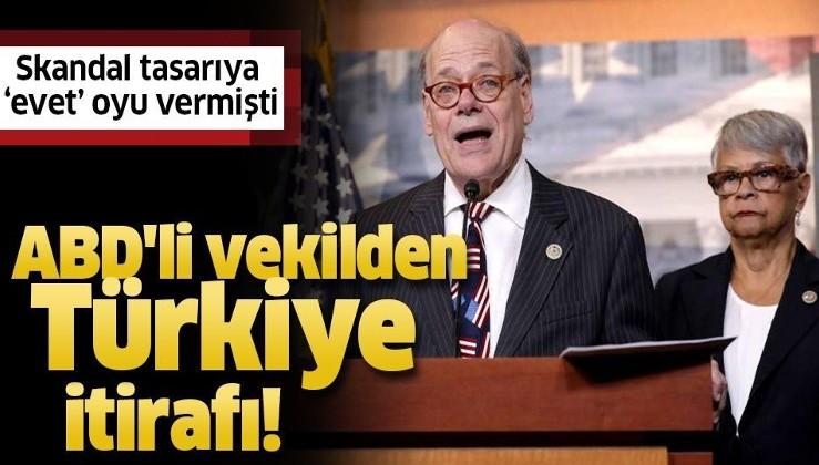 """ABD'li vekil Steve Cohen'den Türkiye itirafı! Skandal tasarıya """"evet"""" oyu vermişti."""