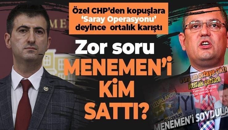 CHP'deki istifalara 'Saray Operasyonu' diyen Özgür Özel'e Mehmet Ali Çelebi'den sert tepki: Menemen'i kim sattı?
