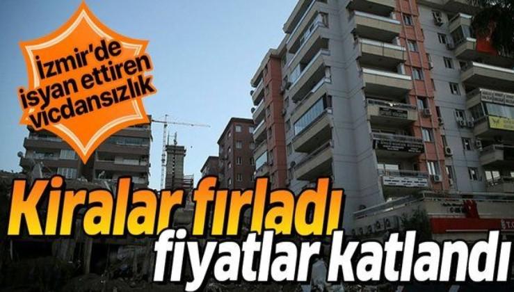 İzmir'de deprem sonrası isyan ettiren vicdansızlık! Kiralar fırladı, fiyatlar katlandı