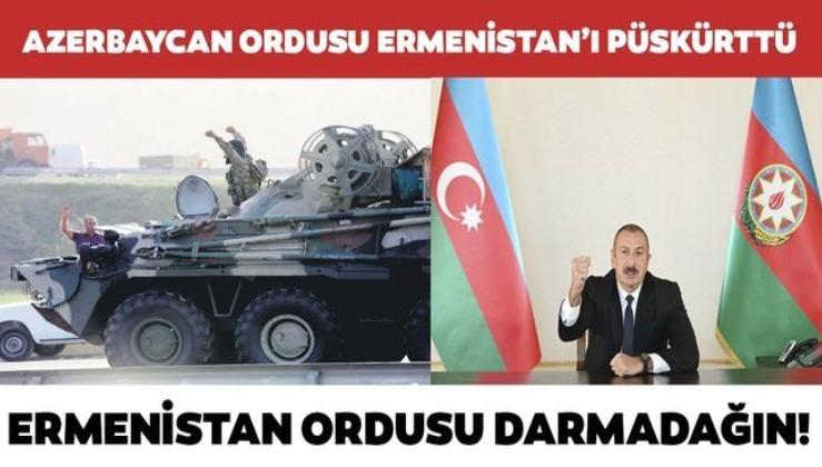SON DAKİKA: Azerbaycan ordusu Ermenistan güçlerine kayıp verdirmeye devam ediyor