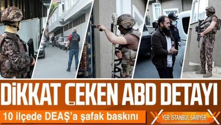 SON DAKİKA: İstanbul'da DEAŞ'a şafak baskını: ABD Başkonsolosluğu'na 500 metre mesafede operasyon