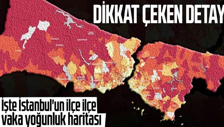 HES haritası güncellendi! İşte İstanbul'un ilçe ilçe vaka yoğunluk haritası | Hayat Eve Sığar uygulamasında son durum