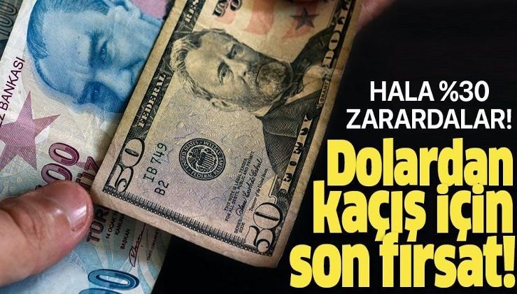 Dolardan kaçış başladı! Türk Lirasına yatırım fırsatı çok