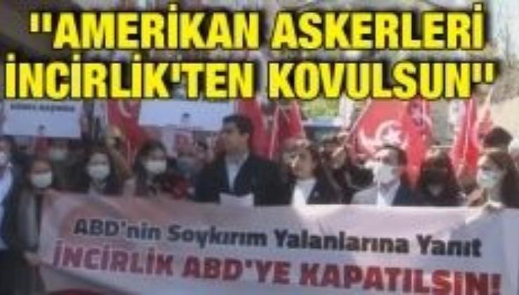 Vatan Partisi - TGB ABD'nin İstanbul elçiliği önünden seslendi: ''Amerikan askerleri İncirlik'ten kovulsun''