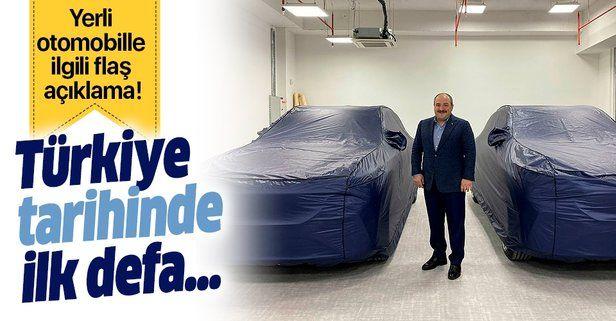 Yerli otomobille ilgili flaş açıklama: Türkiye tarihinde ilk defa yüzde 100 yerli....