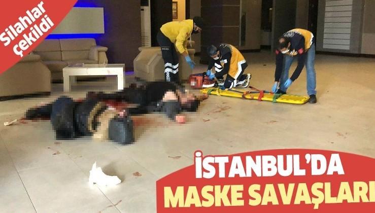 """Son dakika: Beylikdüzü'nde """"maske"""" savaşları: Silahlar çekildi! 4 kişi yaralandı."""