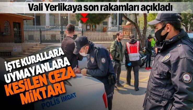 Son dakika: İstanbul'da sokağa çıkma kısıtlaması kapsamında 1536 idari işlem yapıldı