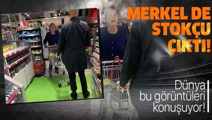 Dünya bu görüntüleri konuşuyor! Almanya Başbakanı Angela Merkel...