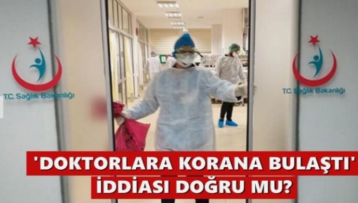 'İbni Sina'da sağlık çalışanlarına virüs bulaştı' iddiası doğru mu?