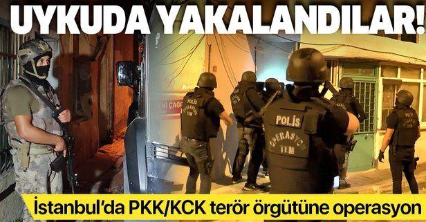 Son dakika: İstanbul'da PKK/KCK terör örgütüne operasyon: 7 gözaltı