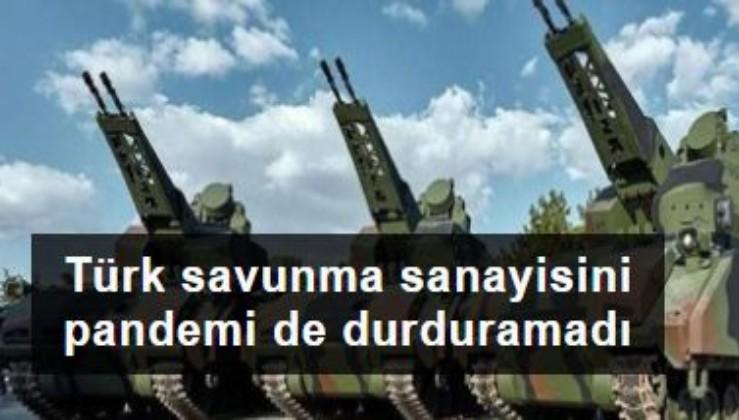 Türk savunma sanayisini pandemi de durduramadı