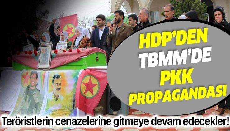 HDP'den PKK'lı teröristlerin cenazelerine gitmeyi sürdürecekleri açıklaması geldi!
