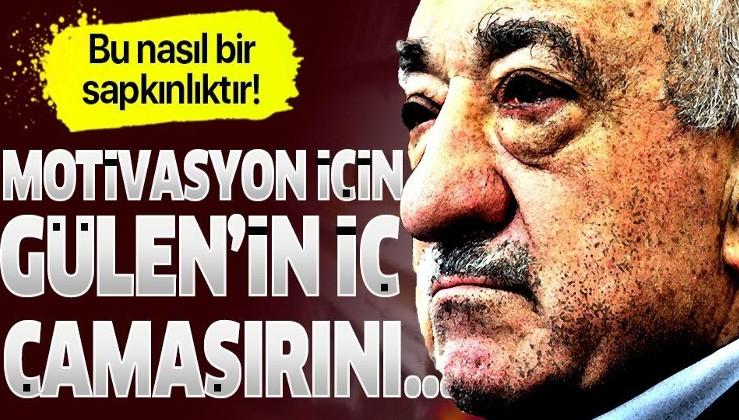 İtirafçı FETÖ'cüler sapkınlığı anlattı: Motivasyon için Gülen'in iç çamaşırını...