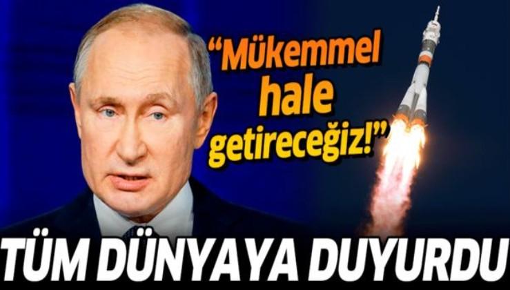 Putin dünyaya duyurdu: Bu silahı mükemmel hale getireceğiz.