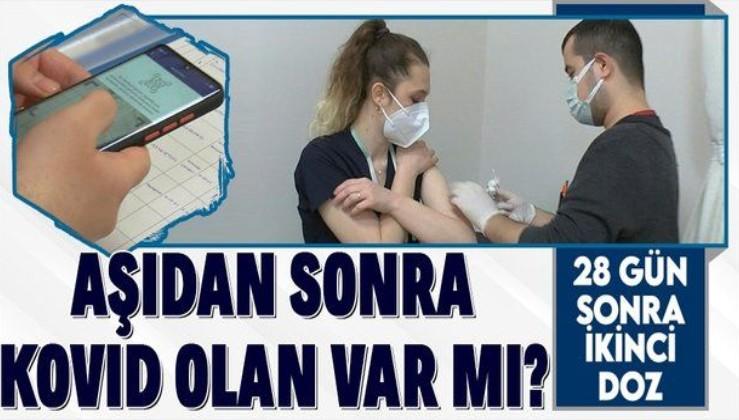 Koronavirüsle mücadele kapsamında aşılamada ikinci doz başladı! Sağlık çalışanları 28 gün sonra yeniden aşılanıyor