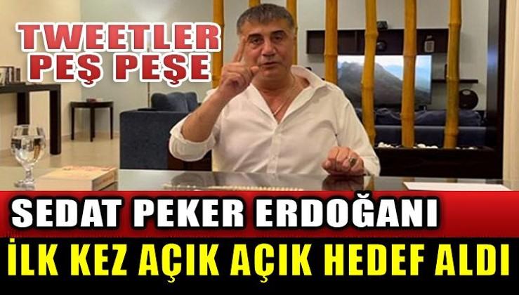 Erdoğan'ı ilk kez hedef aldı