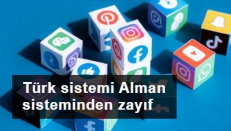 Sosyal medya düzenlemesi: Türk sistemi Alman sisteminden zayıf