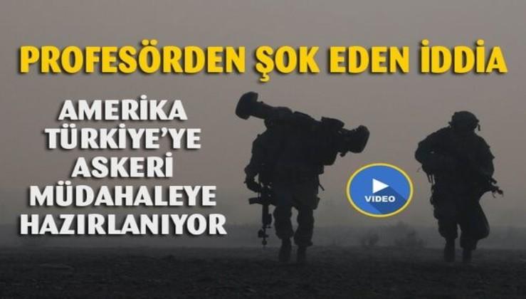 Amerika Türkiye'ye askeri operasyona hazırlanıyor