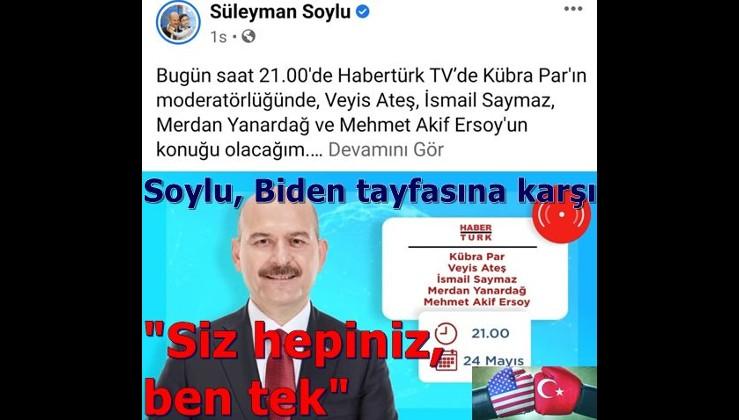 Süleyman Soylu Biden tayfasına karşı, bakalım ne olacak? HDP destekçisi isimler de var!