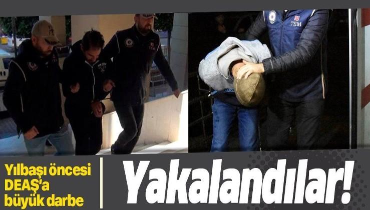 Yılbaşı öncesi terör örgütü DEAŞ'a büyük darbe: 15 kişi gözaltında.