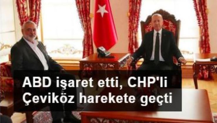 ABD işaret etti, CHP'li Çeviköz harekete geçti