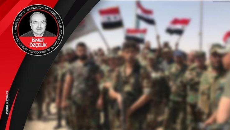 Fırat'ın doğusuna Suriye Ordusu